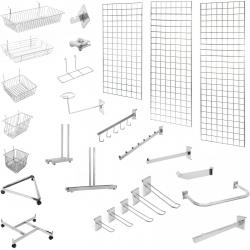 Торговые решетки, сетки, навесные элементы