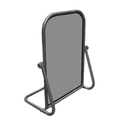 Зеркало обувное напольное, cерый металлик (Арт.1306-1)