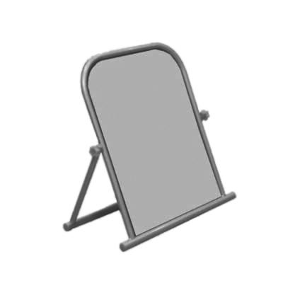 Зеркало обувное напольное, cерый металлик (Арт.1318-1)