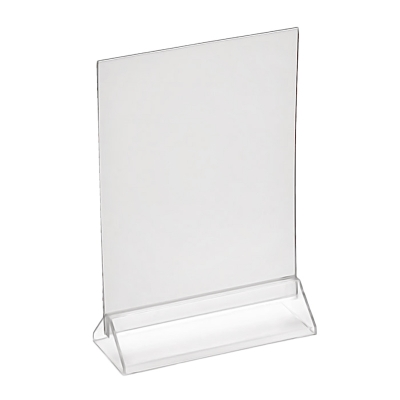 Подставка для меню с треугольным основанием