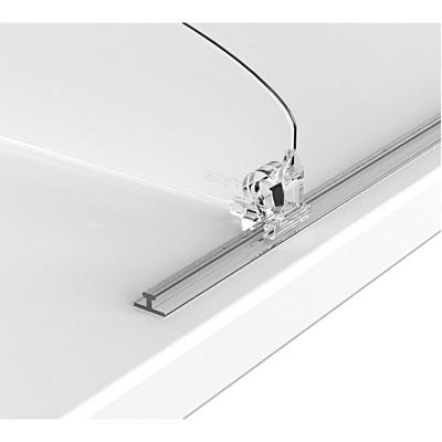 Т-профиль пластиковый шириной 10 мм