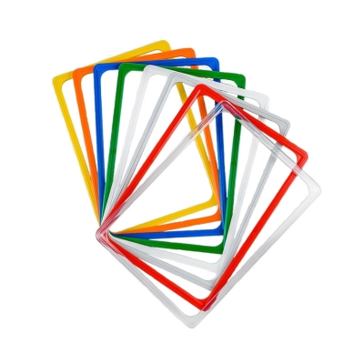 Рамка пластиковая с закругленными углами