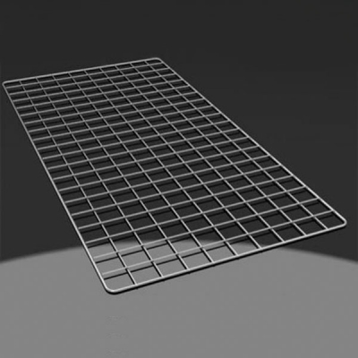 Решетка торговая ячейка 50х50 мм, хром