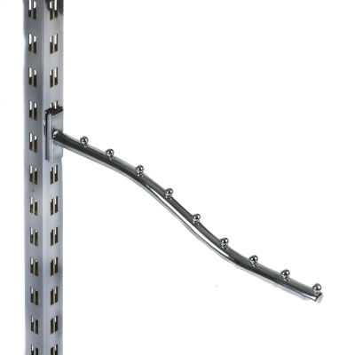 Кронштейн волнообразный 9 шариков, хром (Арт.2208)