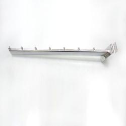 Кронштейн наклонный овальный 7 штырьков, хром (Арт.К646)