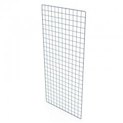 Решетка торговая D=2,5 мм ячейка 50х50 мм, белая