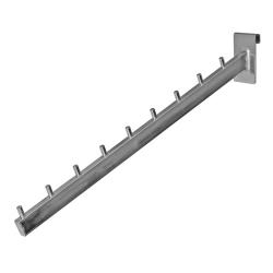 Кронштейн наклонный овальный 9 штырьков, хром (Арт.Р003)