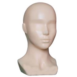 Манекен голова женская пластик