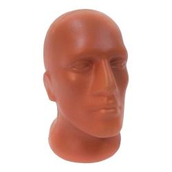 Манекен голова мужская пластик