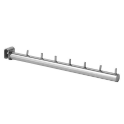 Кронштейн прямой 7 штырьков на овальную трубу, хром (Арт.U246Z)