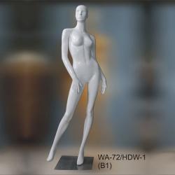 Манекен ростовой женский, белый глянец (Арт.WA-72/HDW-1(B1))