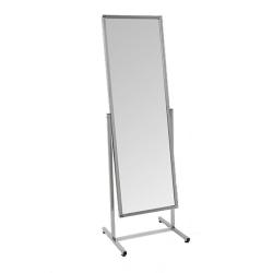 Зеркало напольное с изменением угла наклона, хром