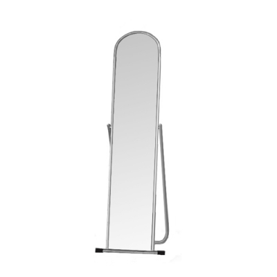 Зеркало примерочное напольное с изменением угла наклона, хром (Арт.5MSO-01)
